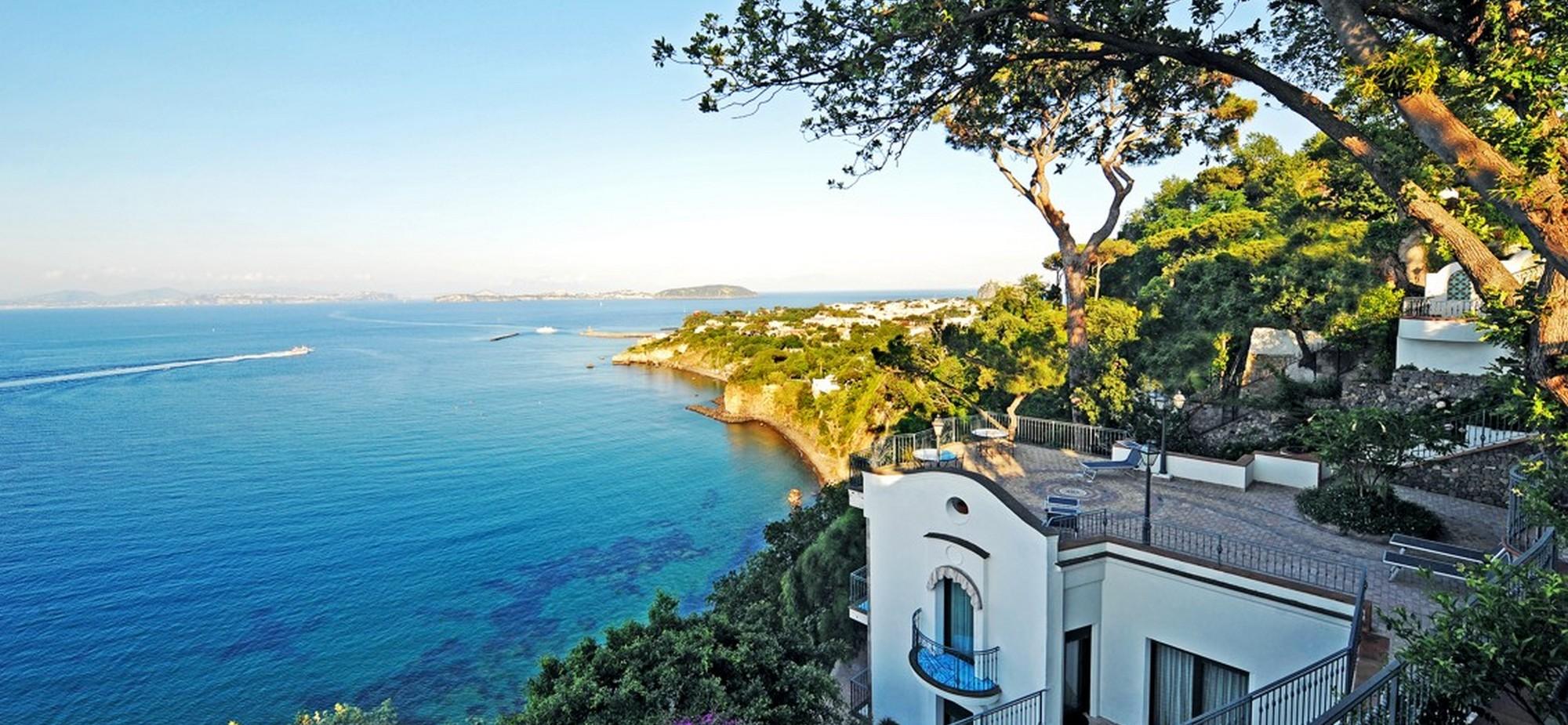 Hotel My Age Ischia - Panorama del Porto di Ischia